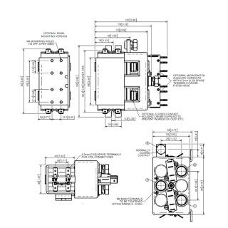 DC88-392 Albright 24V DC Motor Reversing Switch Solenoid